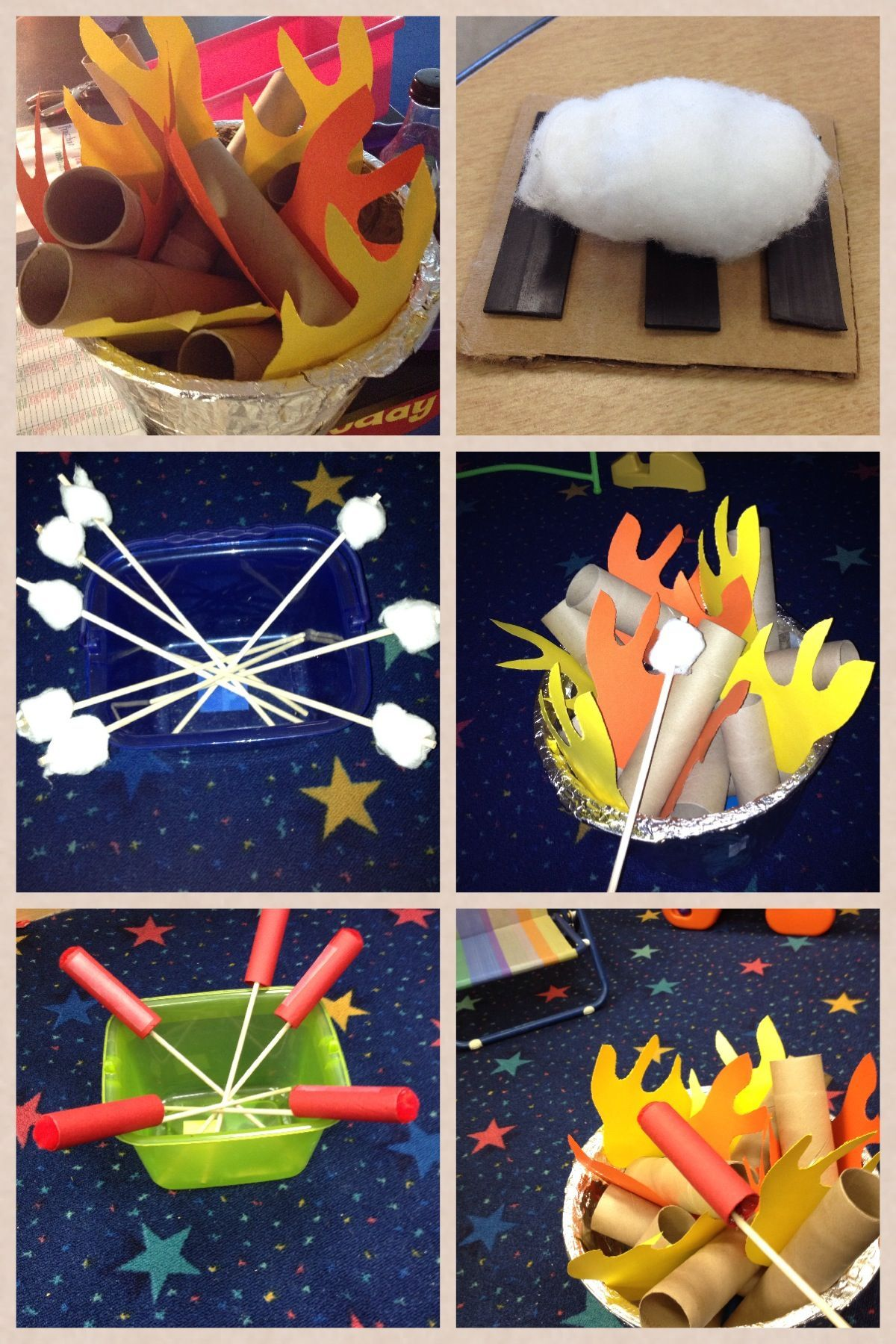 Large group art activities for preschoolers