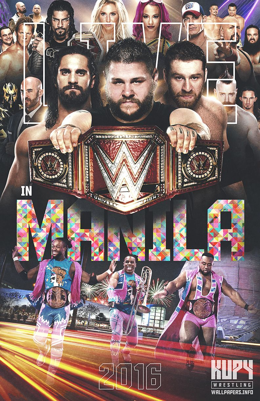 Kupy Wrestling Wallpapers Wwe Live In Manila 792x1224