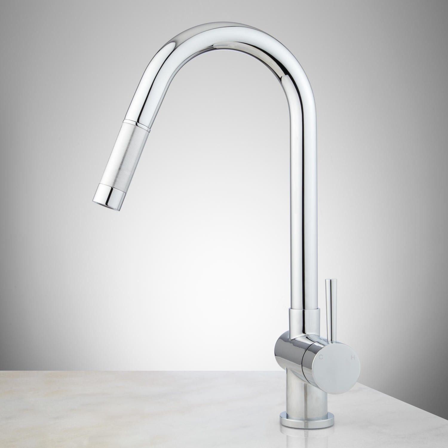 Motes Single Hole Pull Down Kitchen Faucet Plumbing