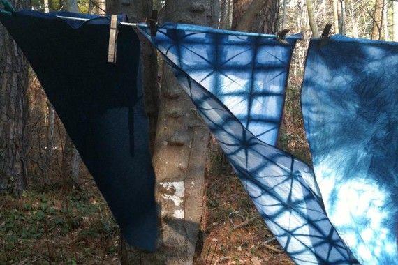 Indigo cloth