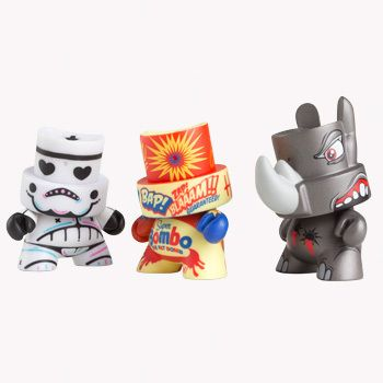 """""""FatCap is a Kidrobot platform toy w/ a spray nozzle-shaped head & an inner rattle that mimics the sound of an aersol can.  Created by Paul Budnitz & Tristan Eaton, FatCaps are customized by graffiti artists & illustrators worldwide.""""  Combining my ♥ for graffiti & kick ass vinyl toyz!"""
