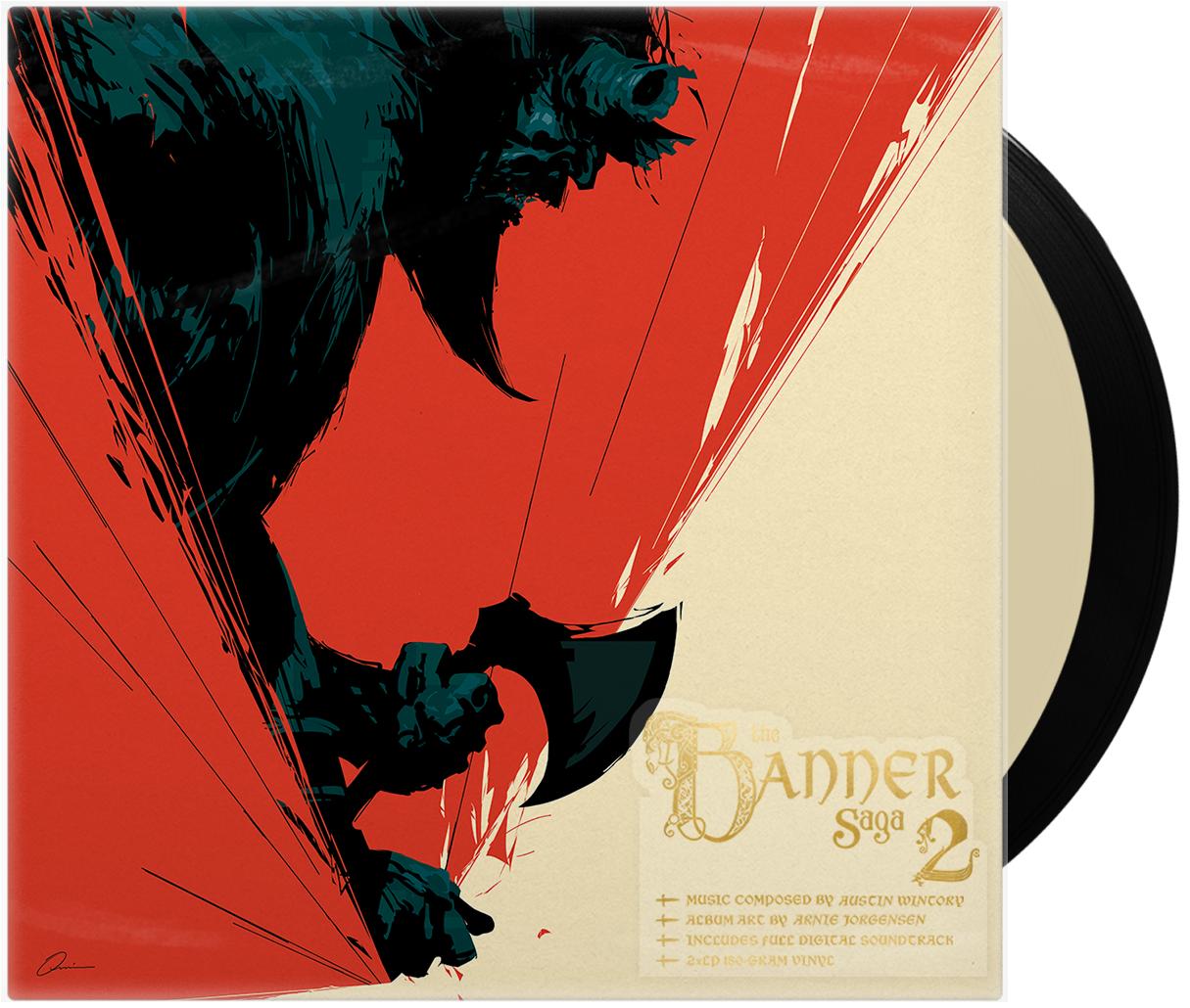 Banner Saga 2 Vinyl Soundtrack 2xlp