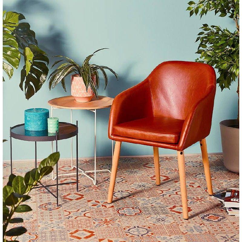 Table D Appoint Pliable Bout De Canape Zoe En Verre Et Metal Noir Bout De Canape Mobilier De Salon Kokoon Design