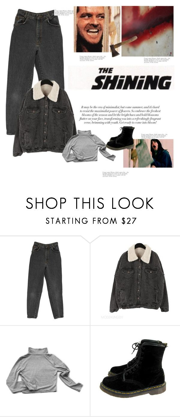 """THE SHINING, 1980"" by hey-there-deliah on Polyvore featuring My Mum Made It and Dr. Martens"