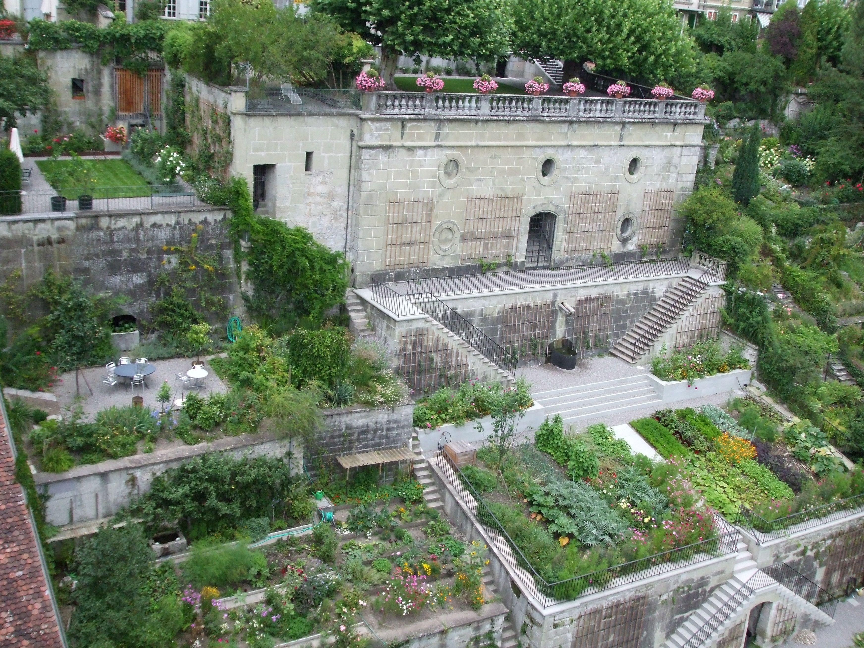 Uncategorized Terraced Gardens the terraced gardens of beatrice von wattenwyl haus bern switzerland