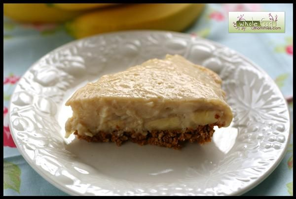 Dairy free banana dream pie maintenance blog whole foods whole food recipes banana dream pie use as much honey or maple syrup instead of sugar and use whole wheat or almond flour pie crust forumfinder Images