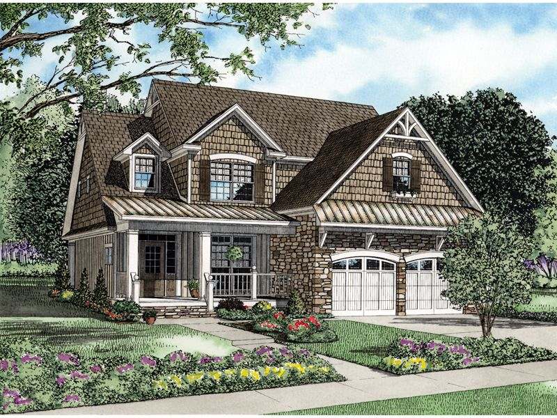Traditional Style House Plans 2457 Square
