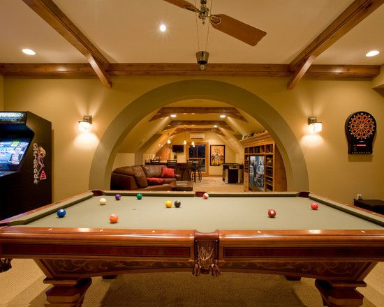 Basement Design Ideas Pictures Remodel And Decor Game Room Basement Basement Design Game Room Design