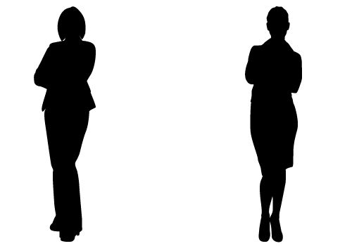 Perfect Lady Silhouette Vectors For Business Vector Free Download Silhouette Vector Silhouette Illustration Silhouette Free