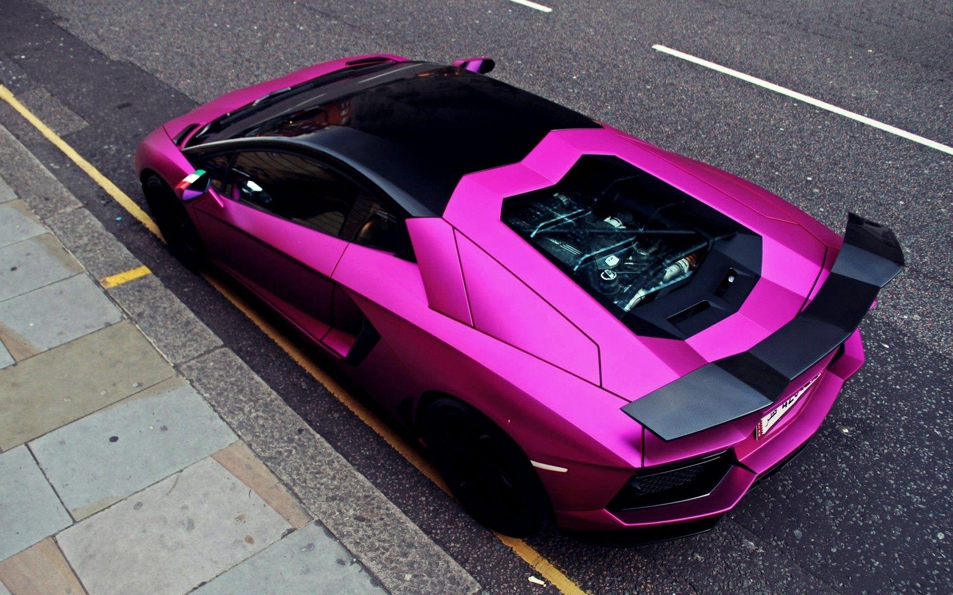 Lamborghini Aventador Lp700 4 1920x1200 Wallpaper Pink Car Lamborghini Sports Cars Luxury