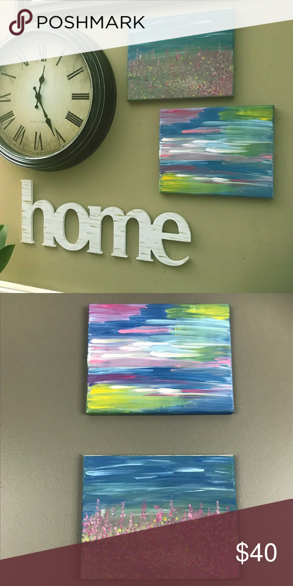 Abstract Wall Art Painting on Canvas