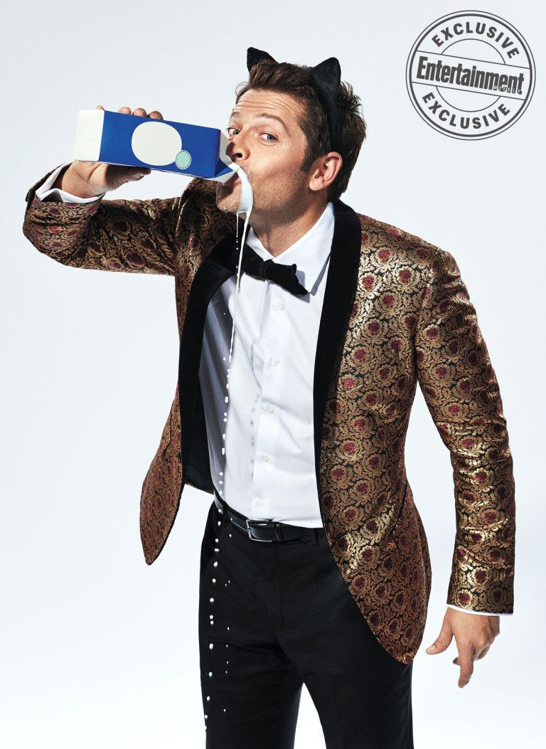 All the photos from EW's Halloween-inspired 'Supernatural' shoot #mishacollins