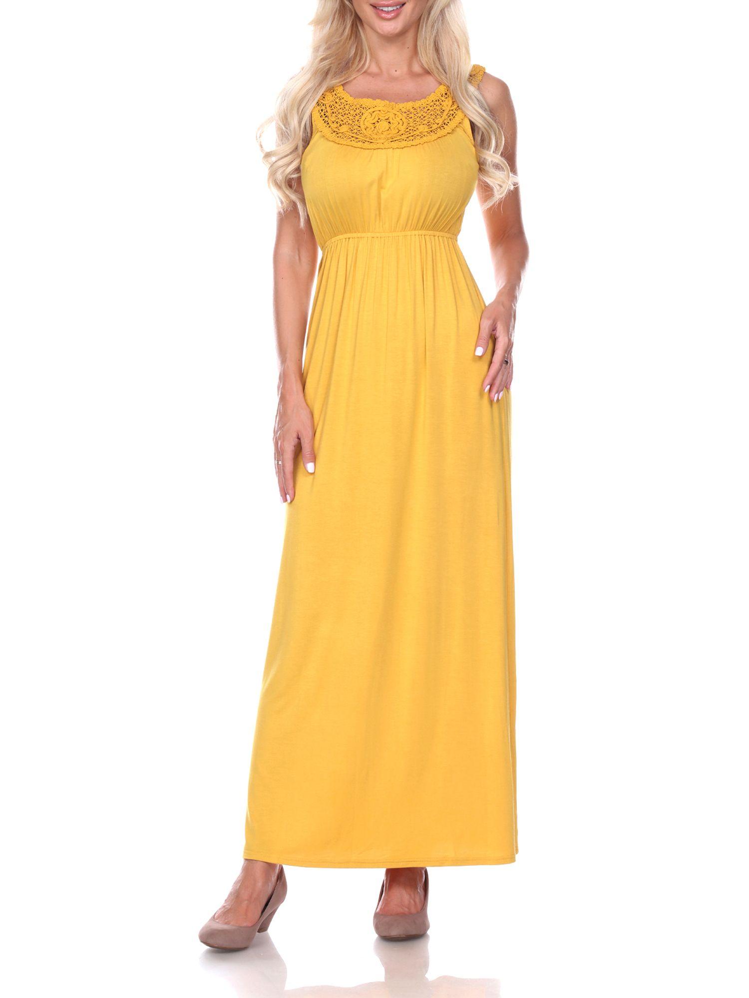 White Mark Women S Katherine Maxi Dress Walmart Com Dresses Maxi Dress Jovani Dresses [ 2000 x 1500 Pixel ]