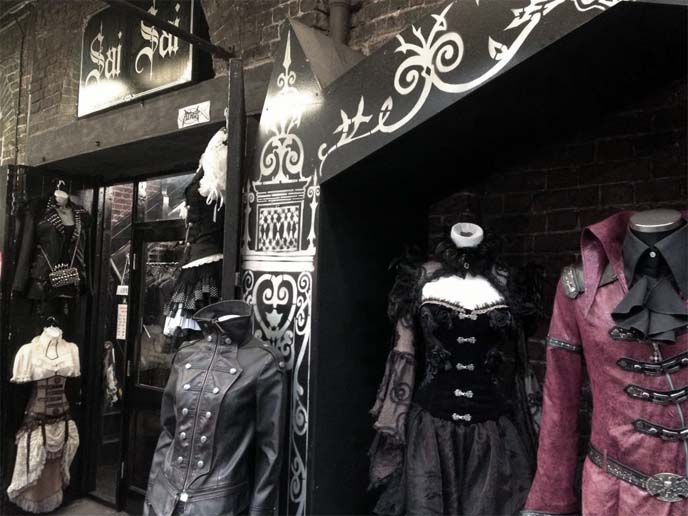 8cdbb4e9c3 London Goth travel guide  Camden Market Gothic Punk shops