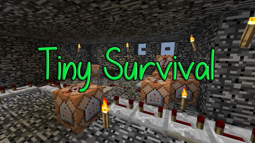 Tiny Survival Map 1 12 2 1 12 Download Minecraft Neon