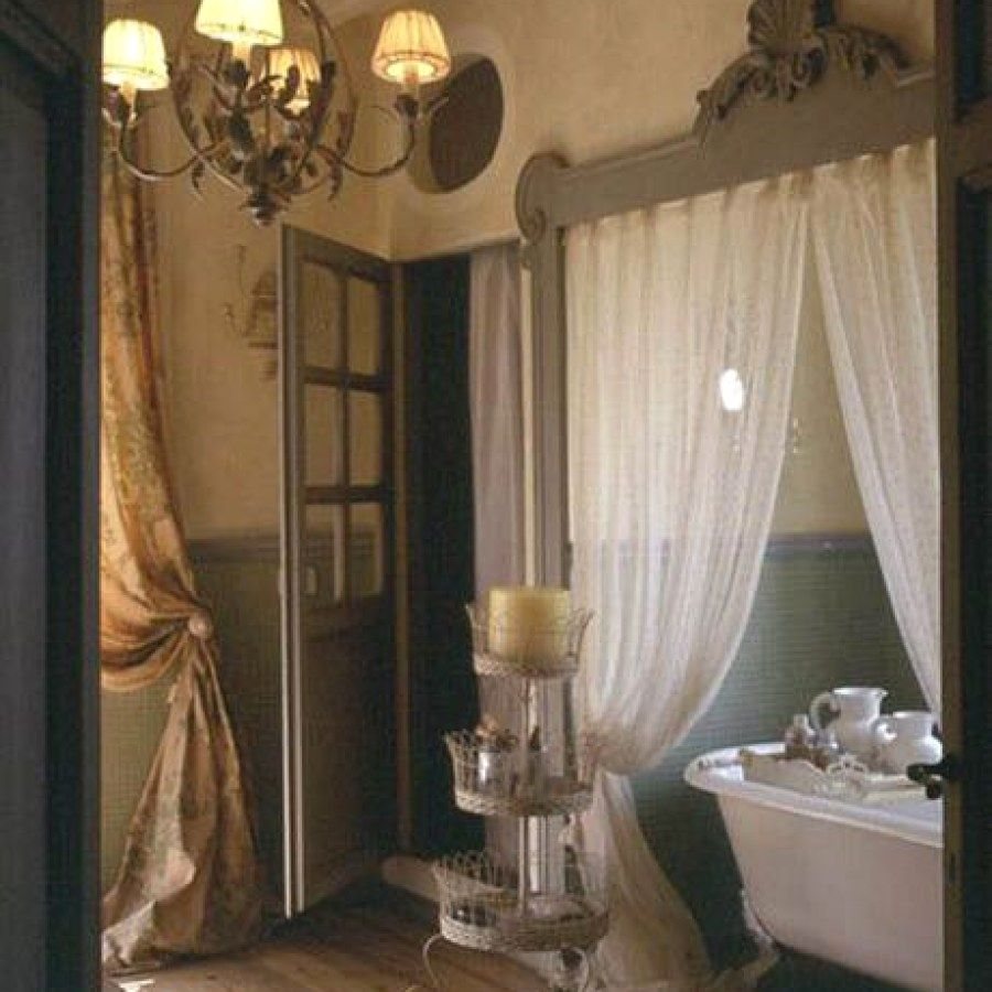 Creative Rustic Style Bathroom Lighting Fixture Ideas To Accent Your New Spa In A Loft R French Country Interiors Country House Decor French Country Bathroom
