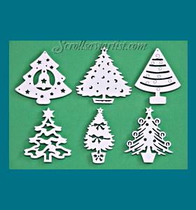 scroll saw ornament patterns pdf