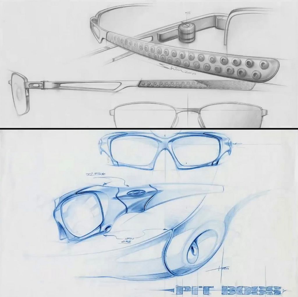 Oakley sunglasses sketch | Pinterest | Oakley, Sketches and Product ...