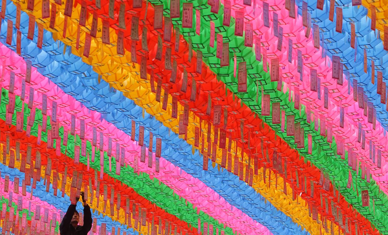 Image result for colorful korea