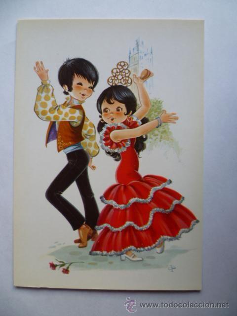 Bailarines de Flamenco.
