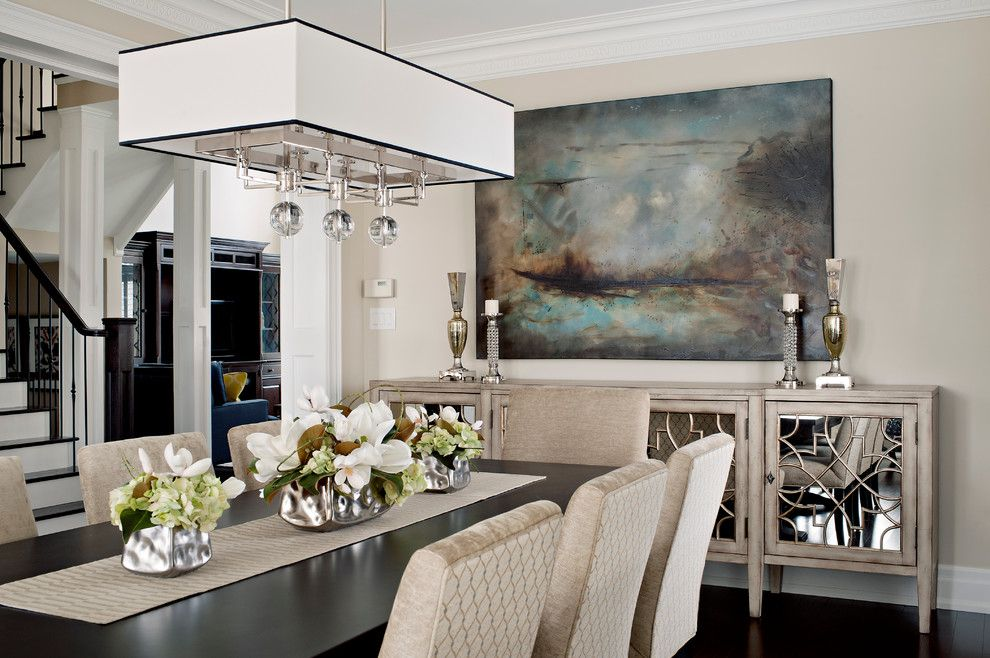 Killer Cream Sideboard Decorating Ideas in Dining Room ...
