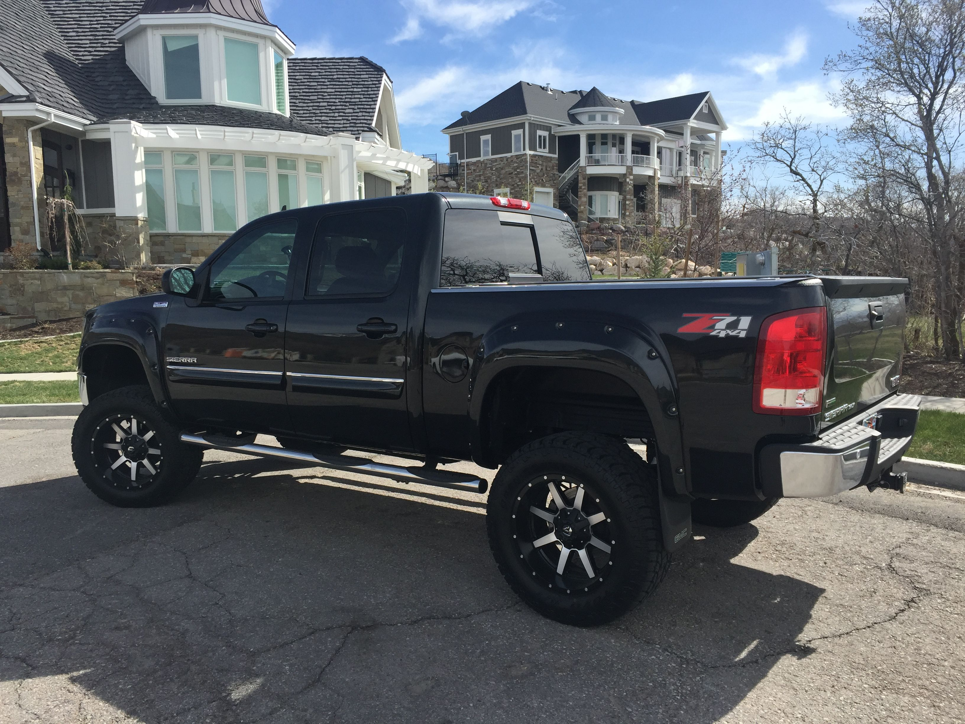 2010 gmc sierra fabtech 6 lift fuel 20 maverick