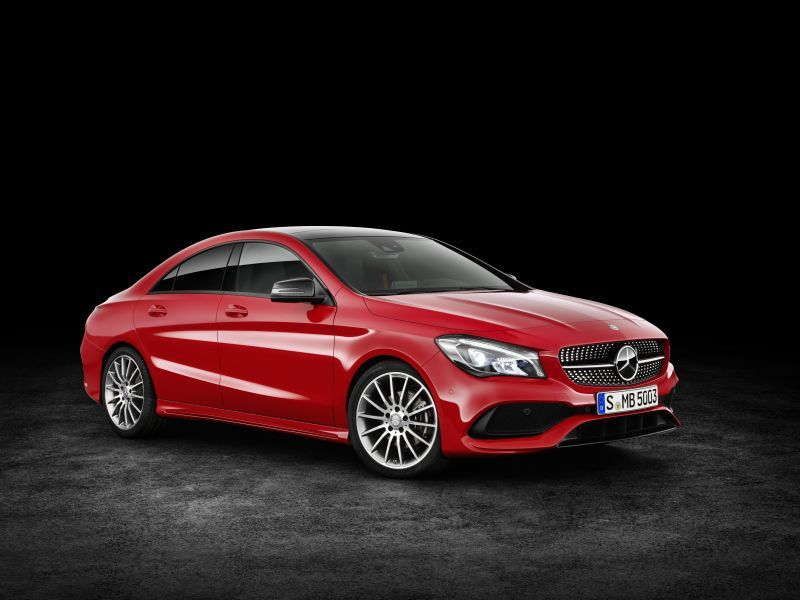 Mercedes-Benz CLA Coupe (C117 facelift 2016) CLA 180 (122 Hp) DCT #cars #car #mercedesbenz #cla #fuelconsumption