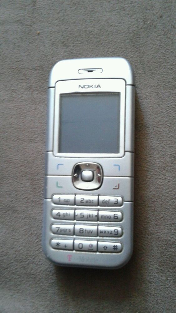 Nokia 6030 - Silver (T-Mobile) Cellular Phone in Cell Phones