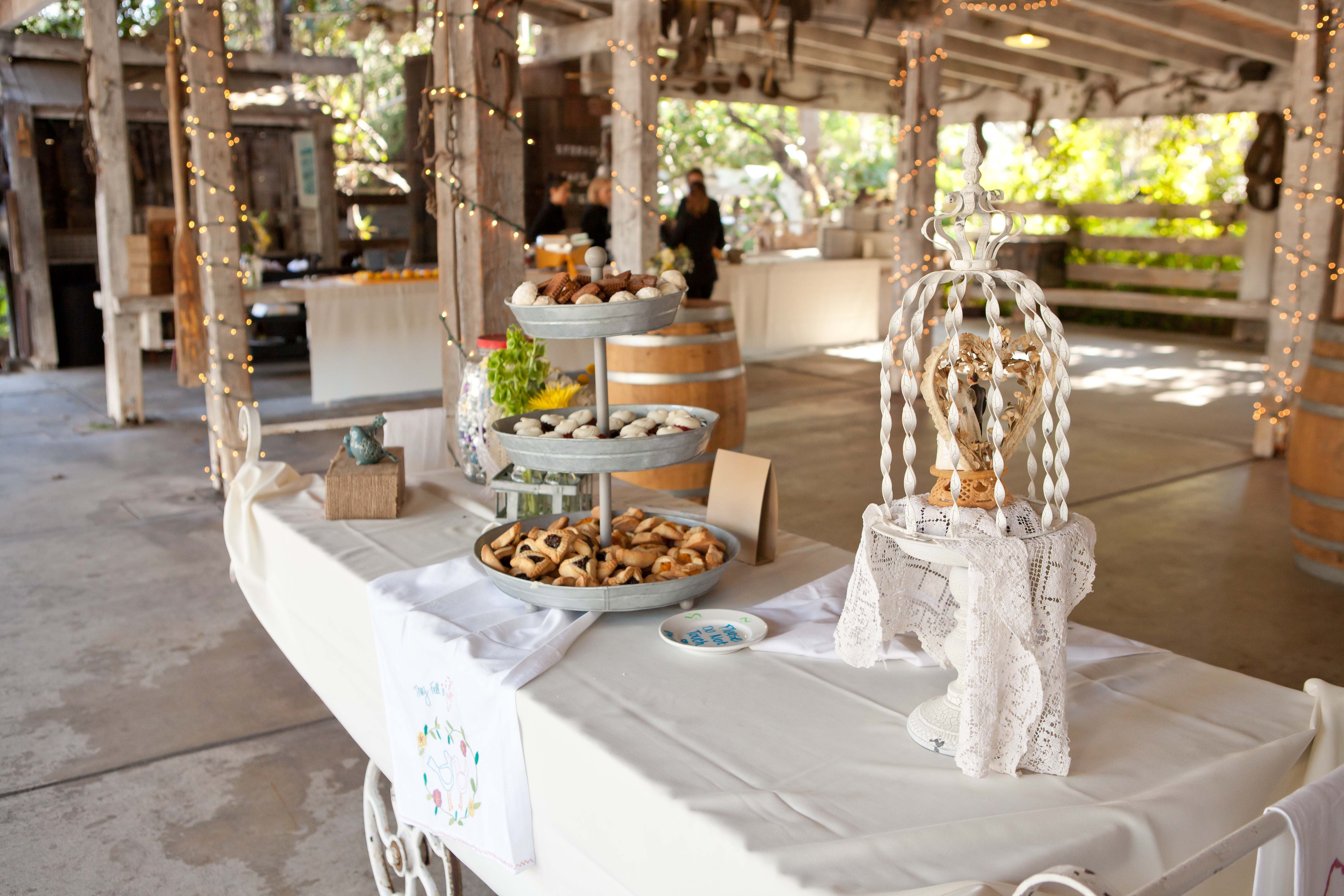 Briana and steves dessert table by nothing bundt cakes