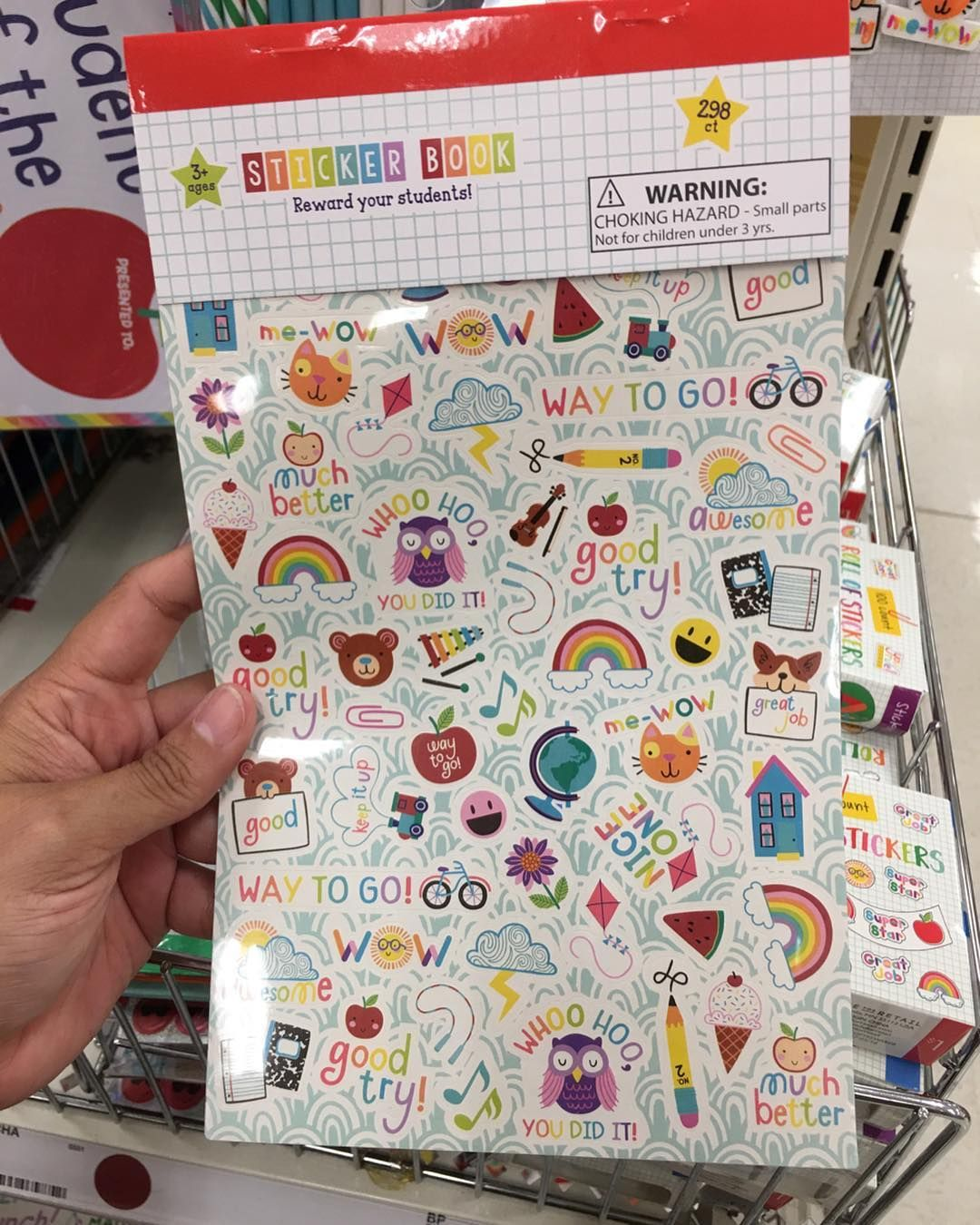 Target Pursuit On Instagram Stickers In The Back To School Section At The Target Dollar Spot Target Target Ta Target Dollar Spot Sticker Book Lol Dolls