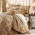 luxury bedding, bedroom