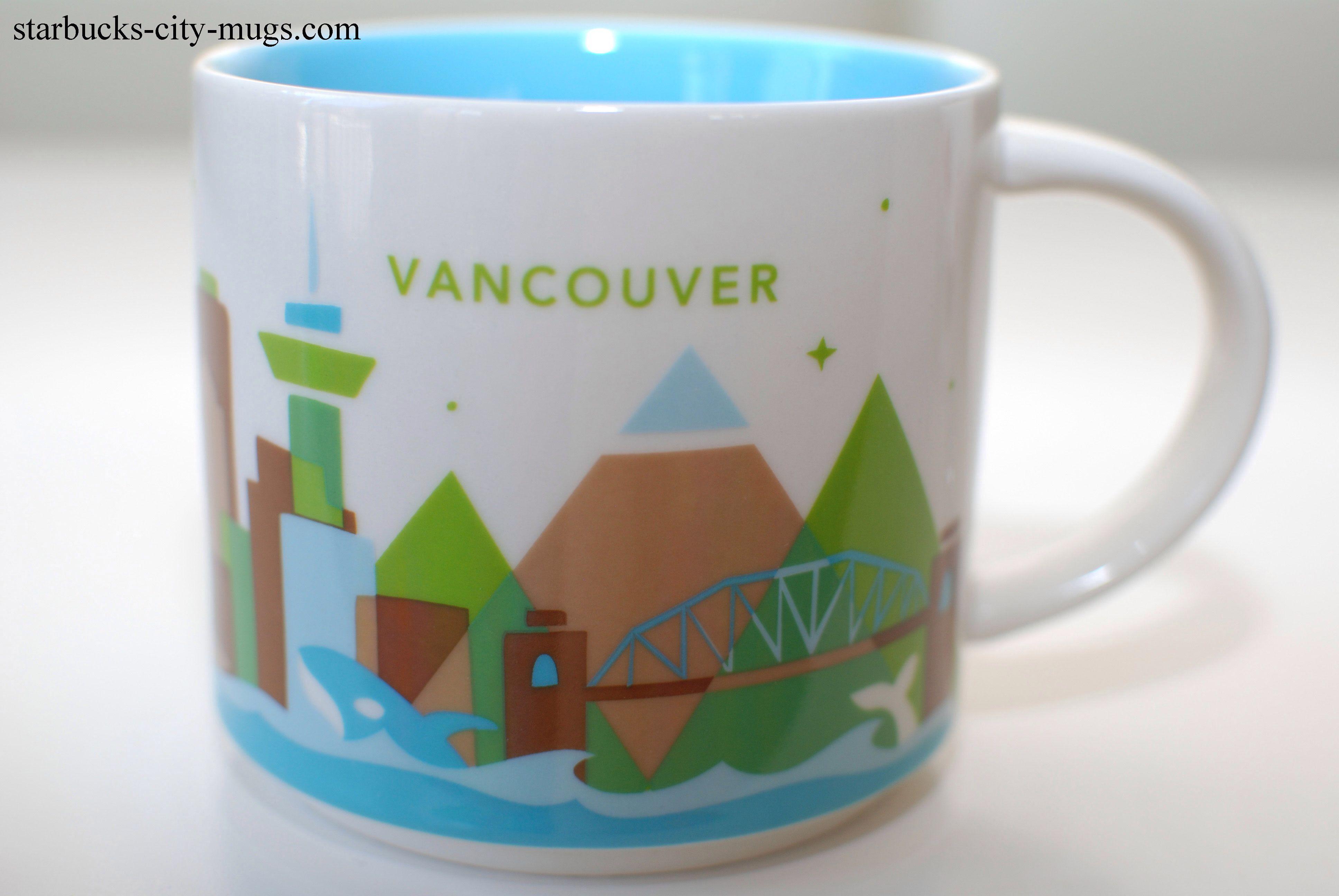 Starbucks You Are Here Mug Vancouver Canada