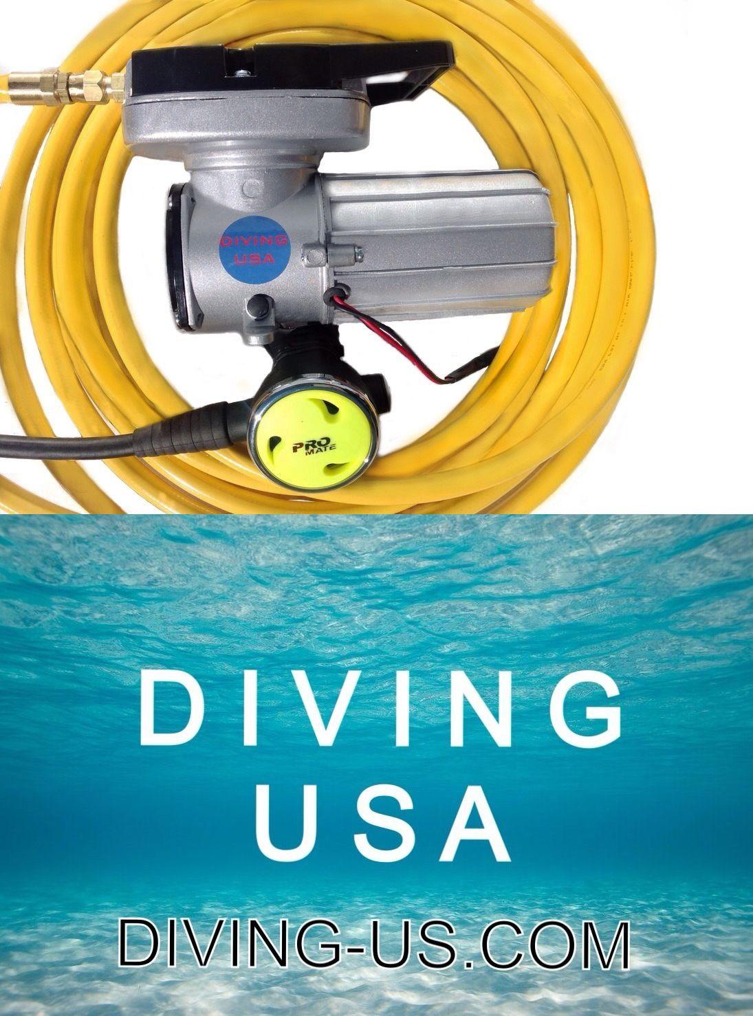 Tanks 16057: 12V Electric Hookah Diving Kit With Regulator