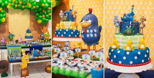 Decoração Galinha Pintadinha: o aniversário de 1 aninho do Lorenzo