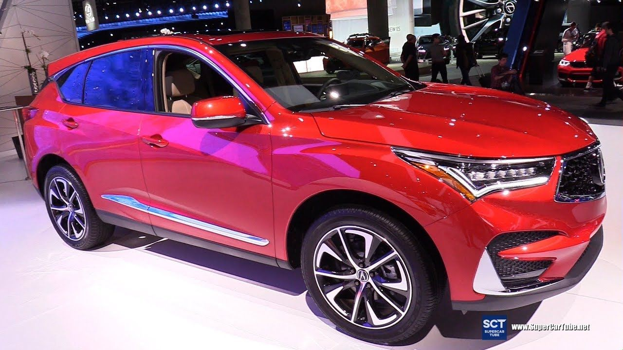 2019 Acura Rdx Exterior And Interior Walkaround 2018 La Auto