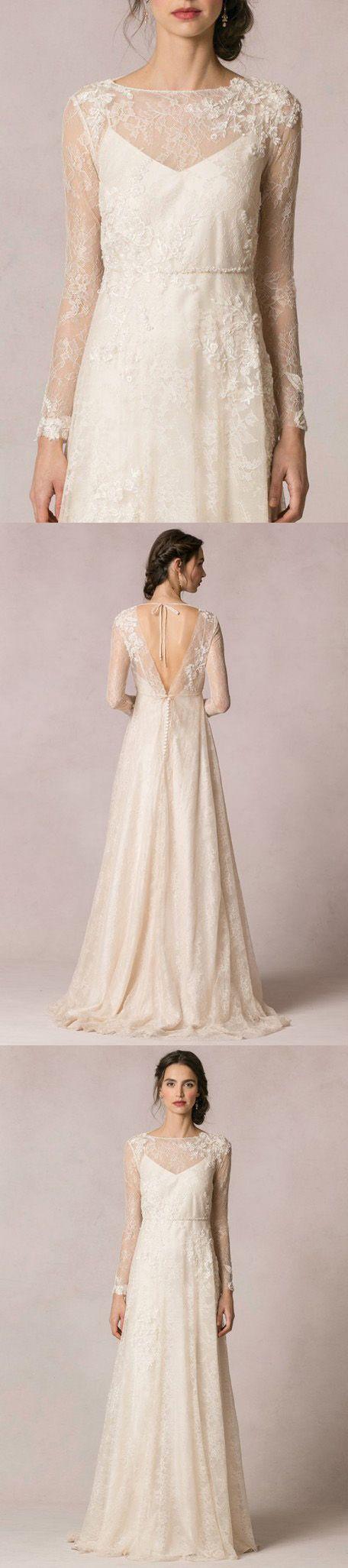 Pin by dressafford on long sleeve wedding dresses pinterest