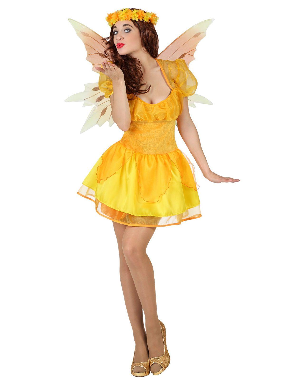 m rchen fee damenkost m elfe gelb pinterest m rchen karneval und fee. Black Bedroom Furniture Sets. Home Design Ideas