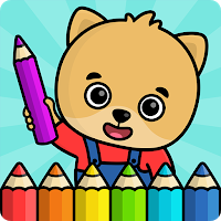 Coloring Book For Kids Mod Apk All Paid Features Unlocked Car Games For Kids Coloring Games For Kids Toddler Coloring Book