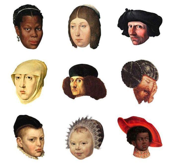 Renaissance Emojis from cupofjoe.com HILARIOUSLY AWESOME http://ibeebz.com