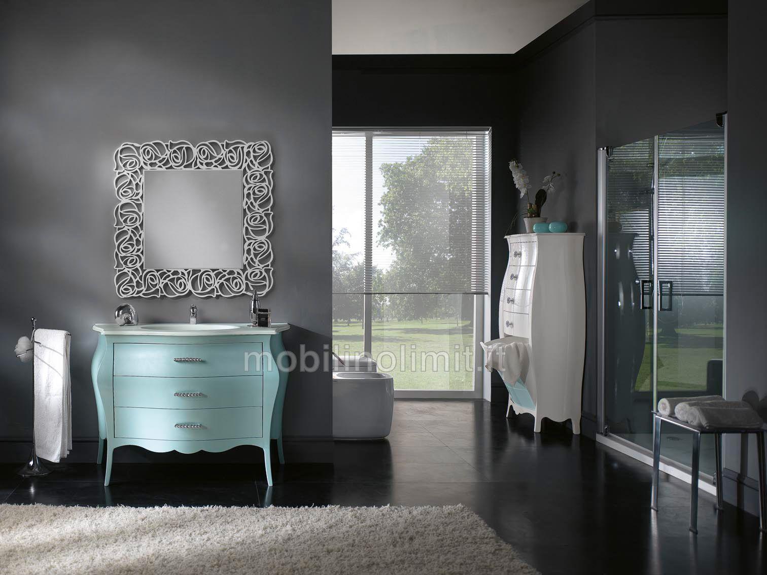 Mobilinolimit ~ Mobile bagno oro 3 cassetti con lavabo l.85 http: www