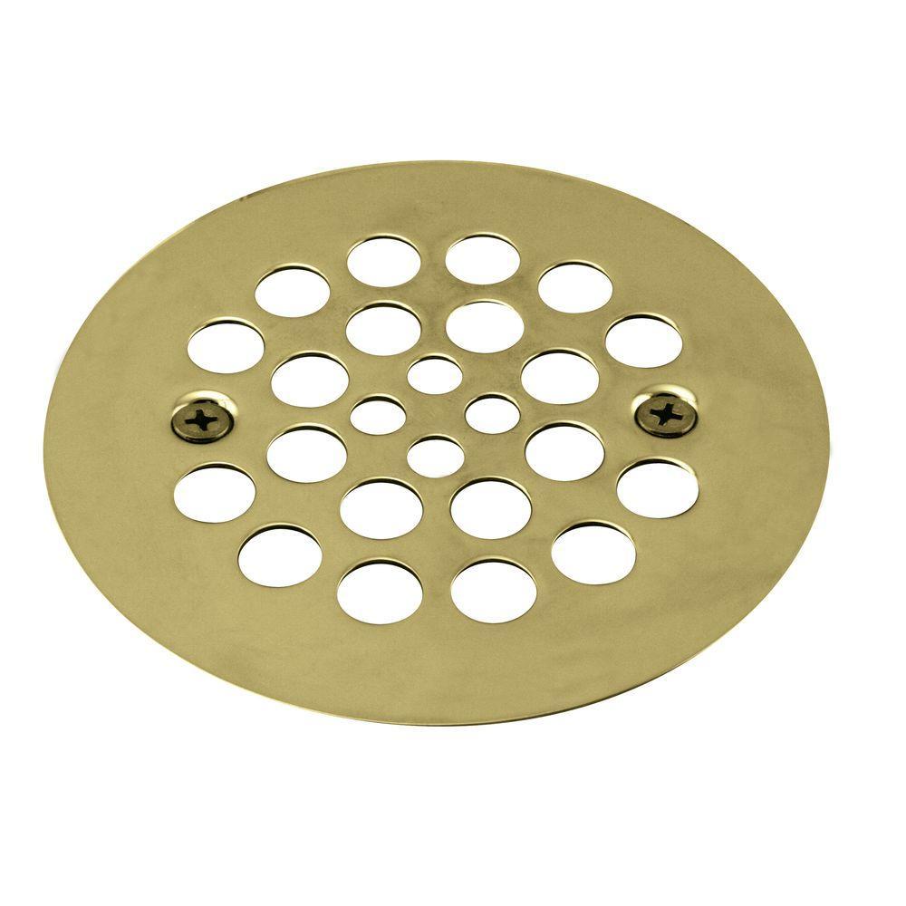 Westbrass 4 1 4 In Brass Shower Strainer Grid With Screws In