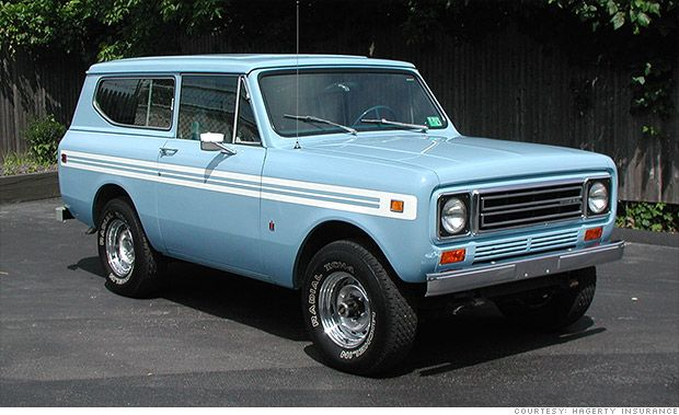 Suvs Become Collectibles International Scout Harvester And