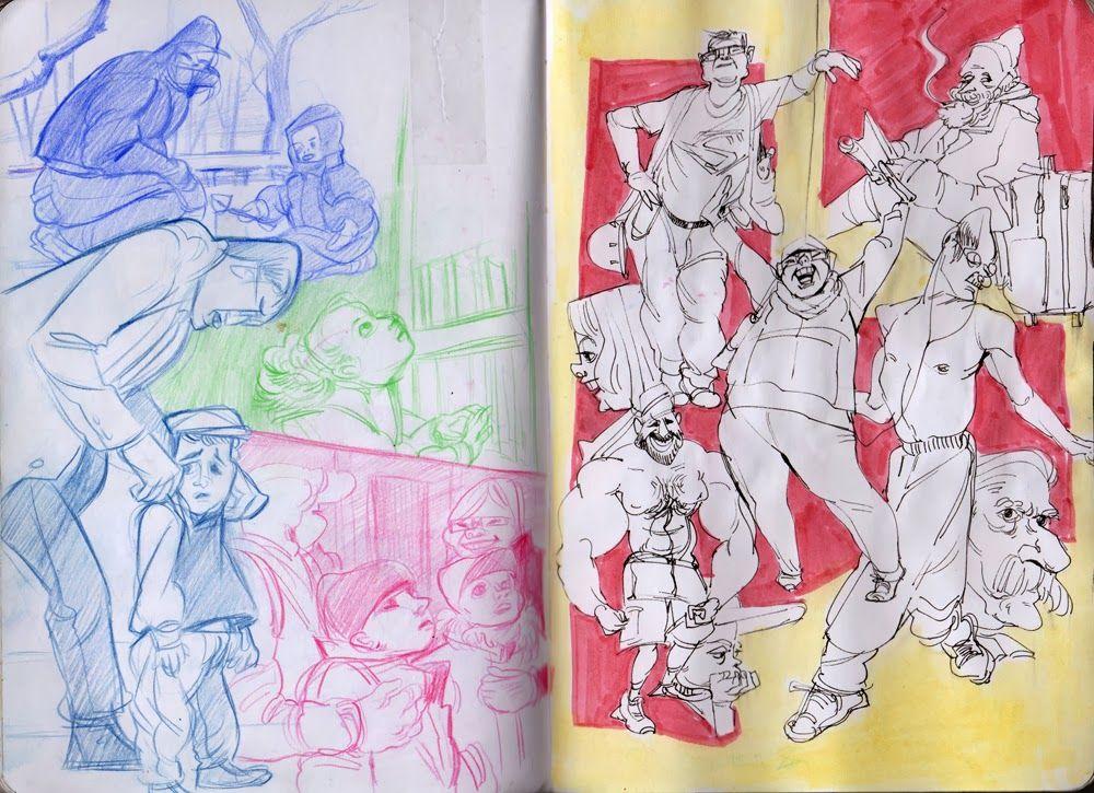 Calarts Character Design Portfolio : Pin by sk kim on figure drawing board pinterest
