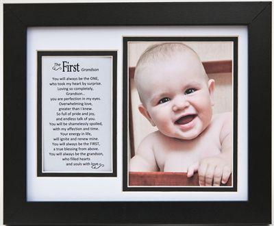 "GRANDSON Potrait Photo Picture Frame 4x6/"" NEW"