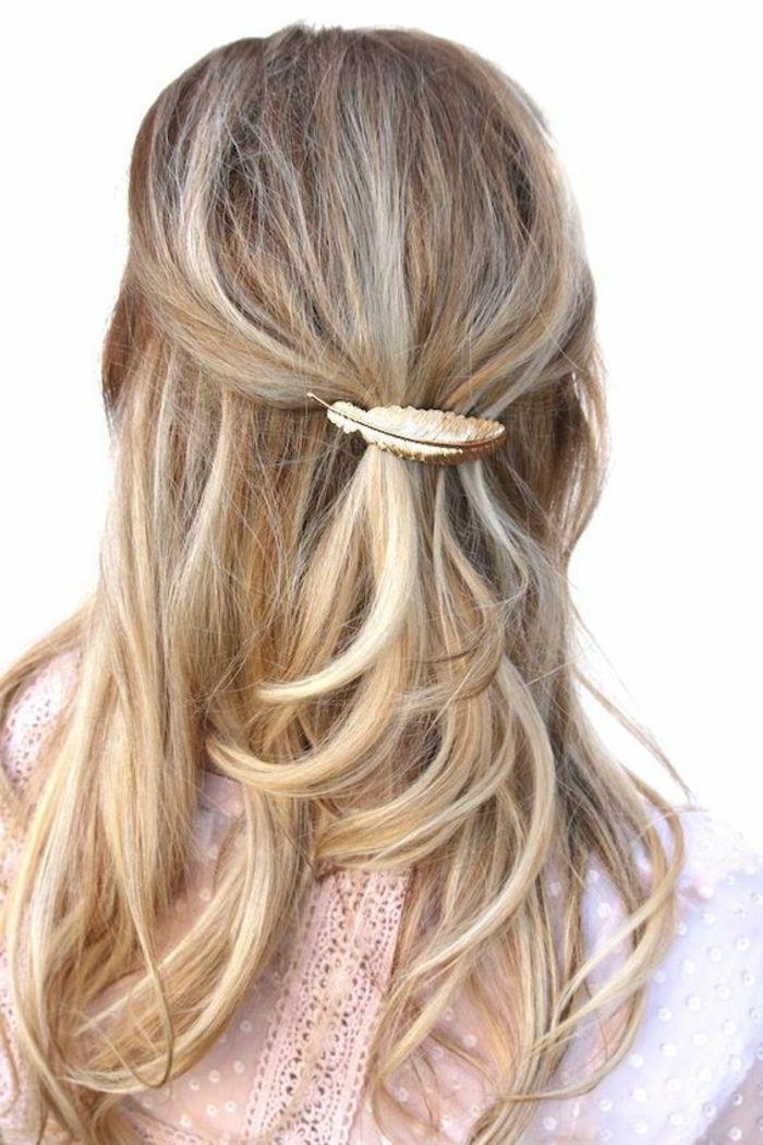 en ligne à la vente boutique de sortie grande variété de styles La plume dans les cheveux - un accessoire pour les femmes ...