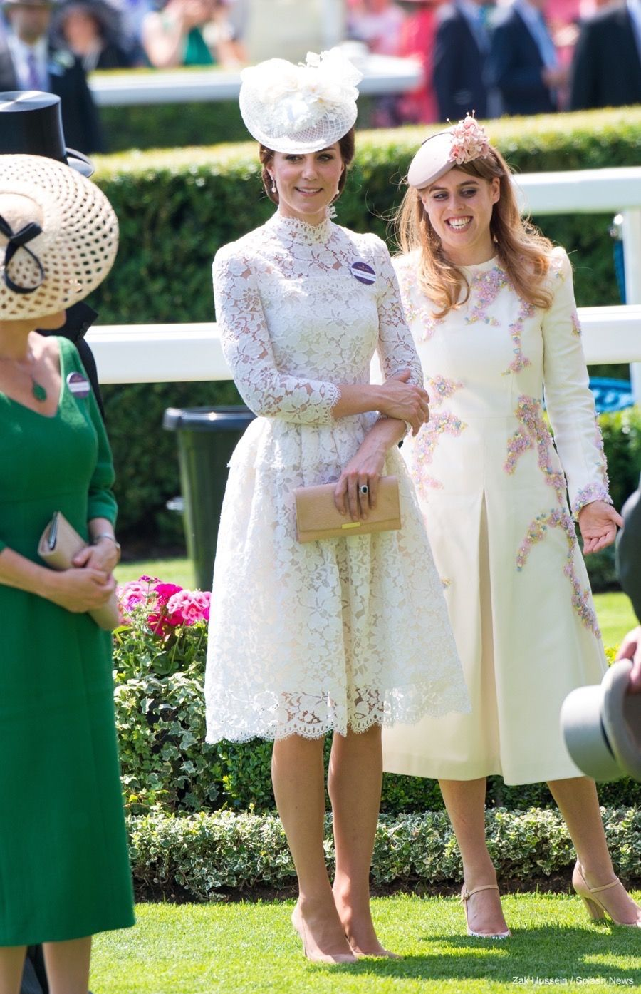 William And Kate Join The Queen At Royal Ascot Kate Middleton
