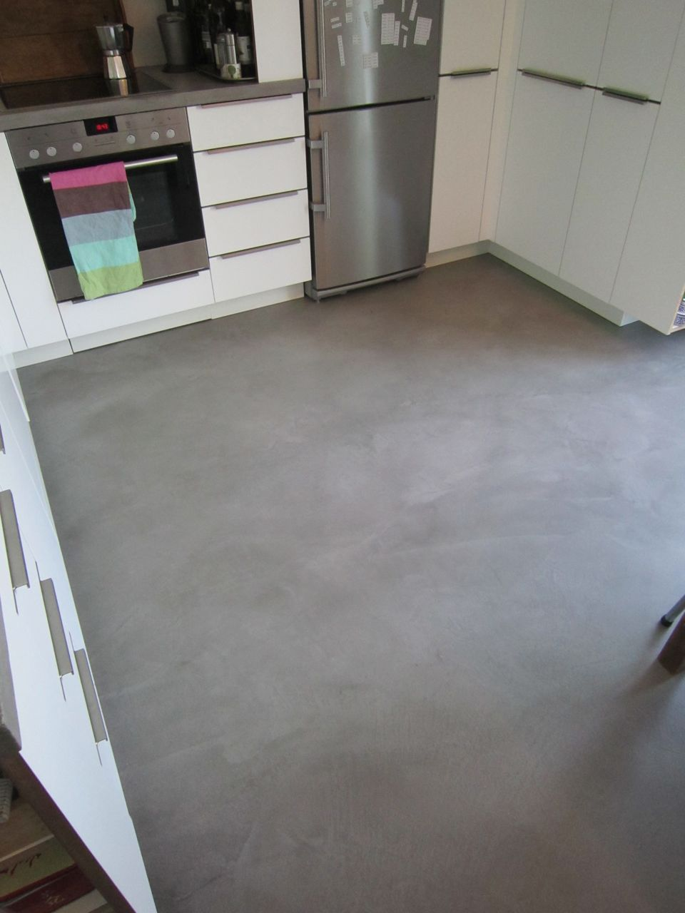 Küche Boden Küchenboden Beton Optik Used Look Ideen Bb In 2019 Kitchen