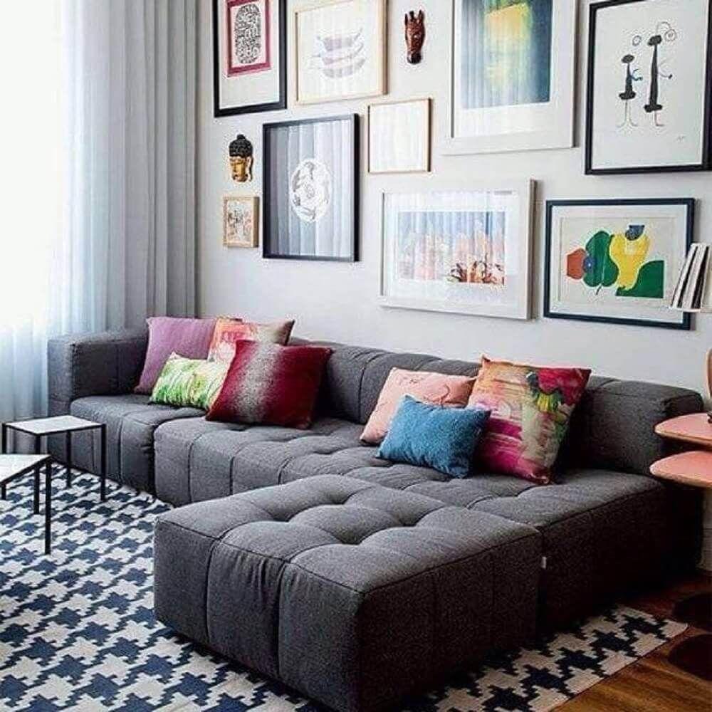 Sofa Cinza 70 Modelos De Decoracao Para Inspirar Voce Salas