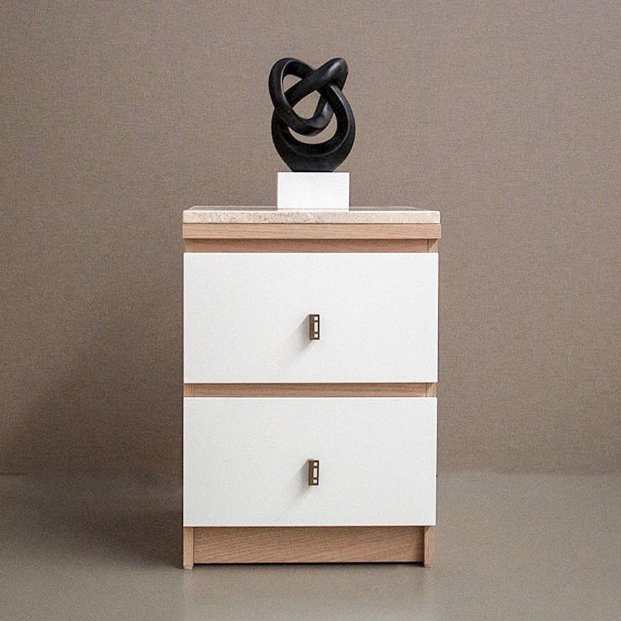 Mesilla Ikea Malm modificada | Malm, Ikea, Roble