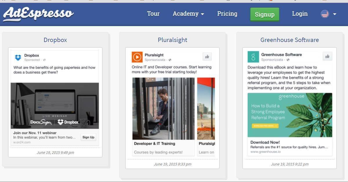 Image Result For Facebook Ad Samples  Facebook Ads